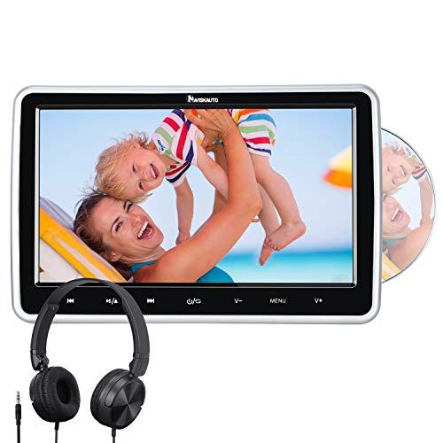 NAVISKAUTO 10,1' Zoll Auto Monitor DVD Player HDMI IN HD Bildschirm...