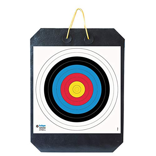 YATE Bogenschießen Zielscheibe Polimix R mit Griff 80cm x 60cm x 10cm...