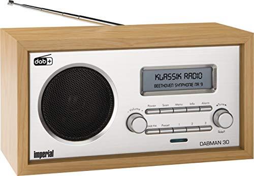 Imperial 22-130-00 Dabman 30 Digitalradio (DAB+/DAB/UKW, Aux In, inkl....