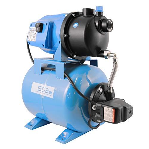 Güde 94667 HWW 3100 K Hauswasserwerk (600W Motorleistung, 3100 l/h...