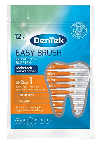 Dentek Easy Brush ISO 1Pack of 12)