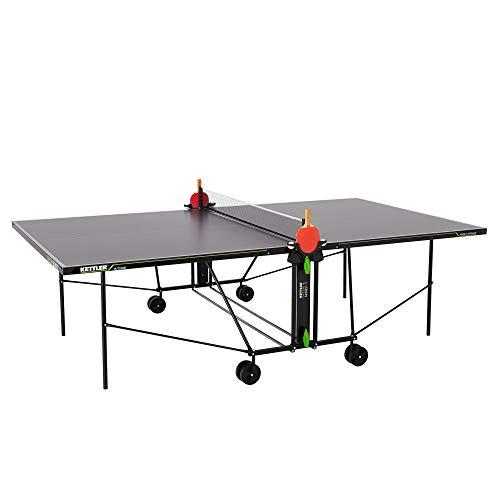 KETTLER K1, Outdoor Tischtennisplatte, Turniermaße, robuste 4mm...