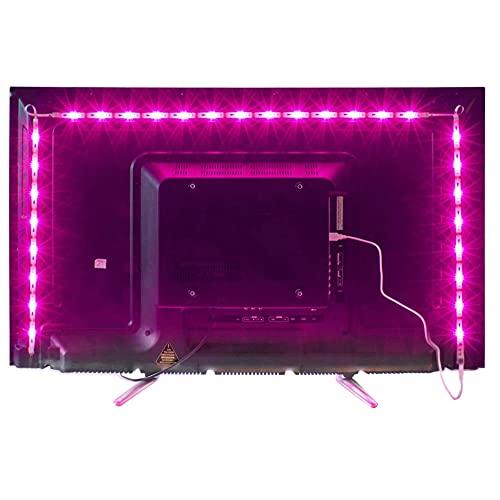 Led TV Hintergrundbeleuchtung,2M USB Led Beleuchtung...