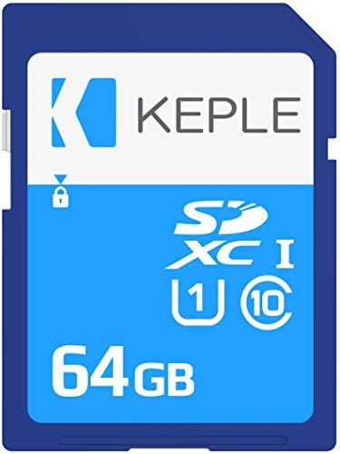 Keple 64GB SD Speicherkarte Quick Speed Speicher Karte Kompatibel mit...