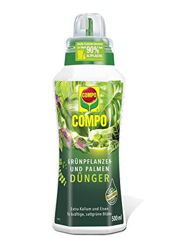 COMPO Grünpflanzen- und Palmendünger für alle Zimmer-, Balkon- und...