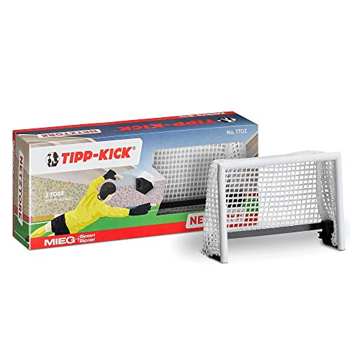 TIPP-KICK Netztore-Set I 2-teiliges Set I Original Zubehör Spiel I...