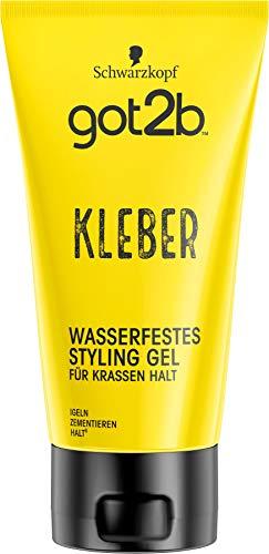got2b Schwarzkopf Kleber, wasserfestes Styling Gel, 1er Pack (1 x...