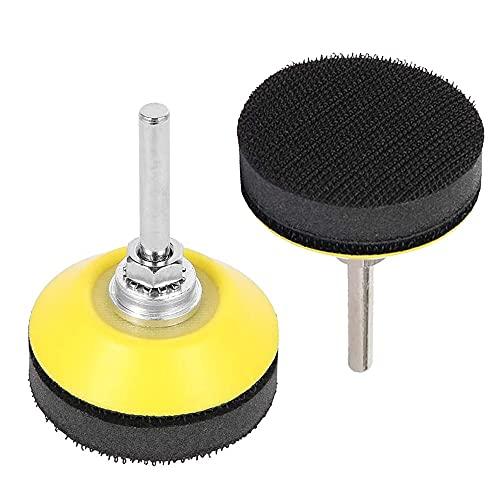 Bestgle 2 Stück 50 mm Klett-Schleifteller für Schleifscheiben mit...