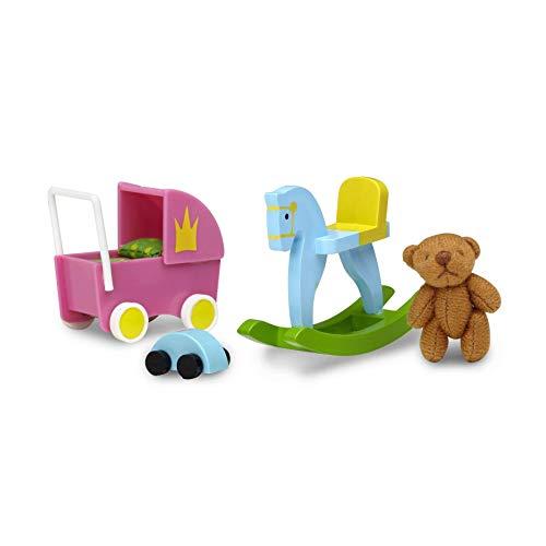 Lundby 60-509100 - Spielzeug Set Puppenhaus - 7-teilig -...
