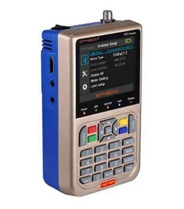 Docooler GTMEDIA V8 V8 Satelliten Finder TV-Signal Finder-Messgerät...