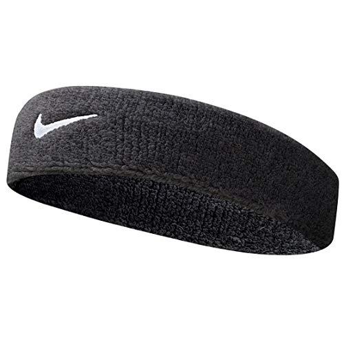 Nike UnisexErwachsene Swoosh Headband/Stirnband, Schwarz...
