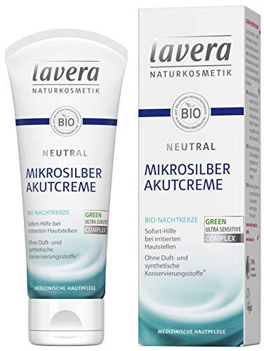 lavera Neutral Akutcreme mit Mikrosilber ∙ Bio Nachtkerze ∙...