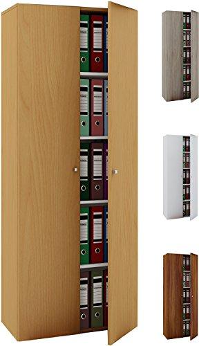 VCM Büroschrank Aktenschrank Bücherregal Standregal Aktenregal...