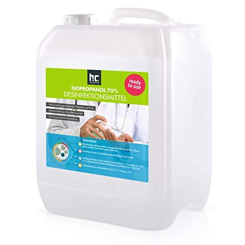 5 L Zugelassenes Desinfektionsmittel für Hände & Flächen -...
