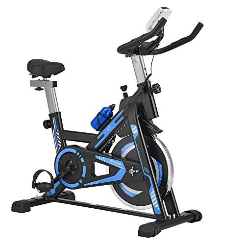 ArtSport Heimtrainer Fahrrad RapidPace mit 10 kg Schwungrad –...