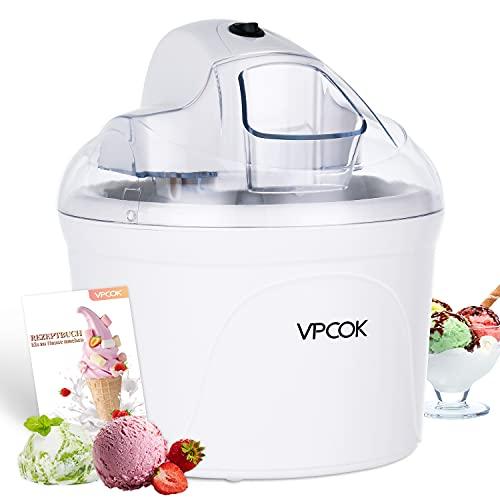VPCOK Profi Eismaschine, Joghurtbereiter und Eisbereiter für...