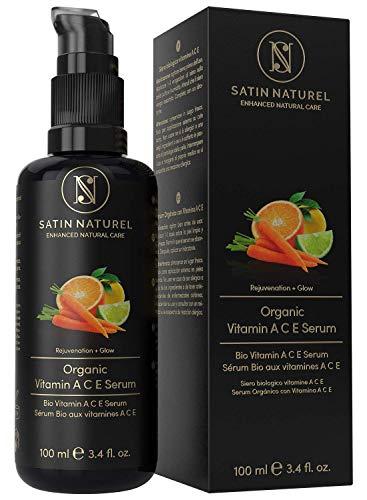 BIO Vitamin C, A&E Anti-Aging Serum mit Hyaluronsäure + Retinol -...