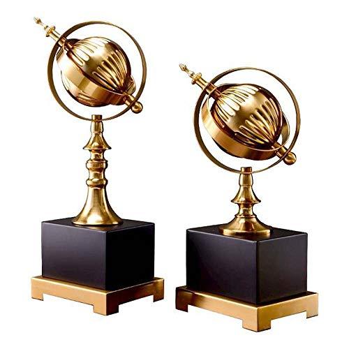 XFSE Globe Ornaments Home Furnishings Europäischer Schreibtisch...