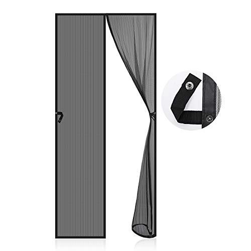 Magnet Fliegengitter Tür, EGNBU Insektenschutz Tür 90x210cm,...