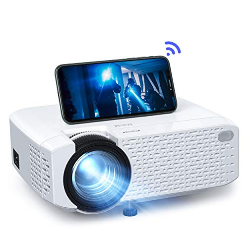 Beamer WiFi, Mini Wireless Beamer, tragbare Projektor...
