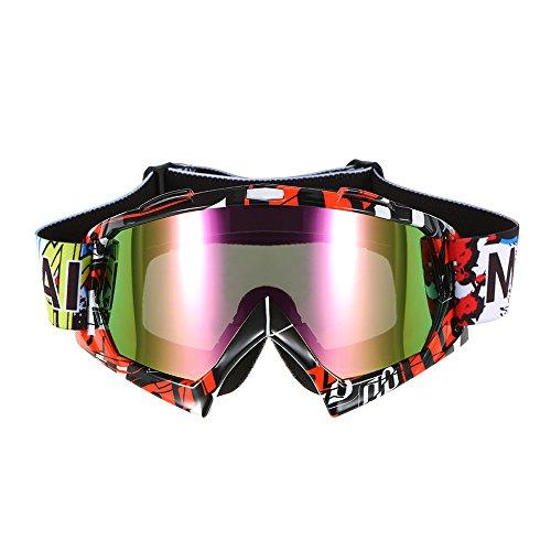 KKmoon Motorradbrillen Schutzbrille Radfahren Brillen, Winddichten...
