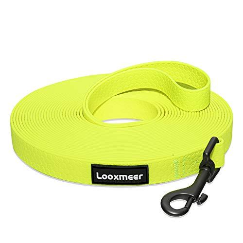 Looxmeer Schleppleine für Hunde, 5m Robuste Hundeleine Trainingsleine...