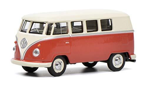 Schuco 452017100 VW T1 Bus, beige 1:64 452017100-VW, Modellauto,...