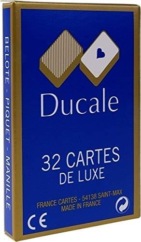 Jeu 32 cartes de luxe Ducale Boîte carton