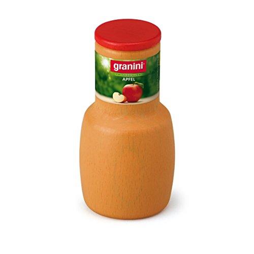 Erzi 18081 Apfelsaft von Granini aus Holz, Kaufladenartikel für...