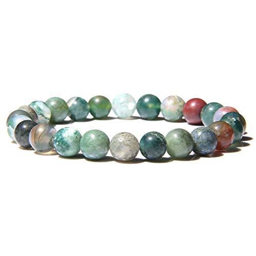 OYZK Handgemachte Naturstein Afrikanische Türkis Perlen Armband...