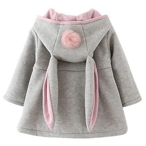 Odziezet Baby Mädchen Mäntel aus Baumwolle Frühlung Herbst Winter...