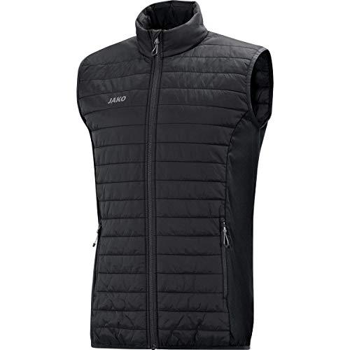 JAKO Herren Sonstige Jacke Steppweste Premium, schwarz, XXL, 7005