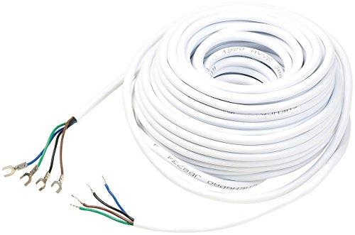 Somikon Zubehör zu Klingel mit Kamera Kabel: Kabel für...