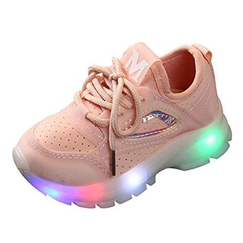Piebo-Babyschuhe Jungen Mädchen Kleinkind Kinder LED Leuchtschuhe...