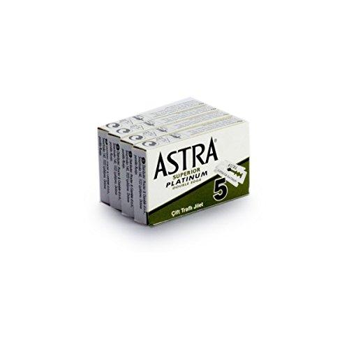 Rusty Bob - Astra Rasierklingen-platinum-classic für den klassischen...