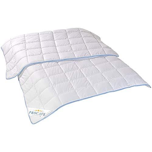 PROCAVE TopCool Qualitäts-Bettdecke für den Sommer 135x200cm,...