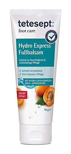 tetesept foot care Hydro Express Fußbalsam – Fußcreme mit...