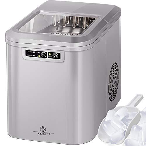 KESSER® Eiswürfelbereiter   Eiswürfelmaschine Edelstahl   Ice Maker...