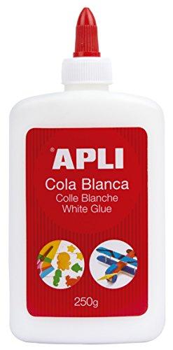 APLI, Kleber, weiß 250 g weiß