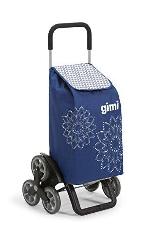 GIMI Tris Floral Blau Einkaufstrolley Einkaufskörbe &...