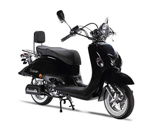 Motorroller LuXXon Cruiser - Retro Roller 45 km/h mit 3 PS - Euro 4 -...