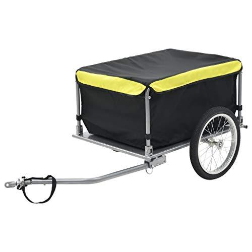 vidaXL Fahrradanhänger 65kg Transportanhänger Handwagen Fahrrad...