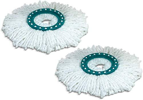 Leifheit Ersatzkopf Disc Mop, mit saugfähiger Microfaser, mit hoher...