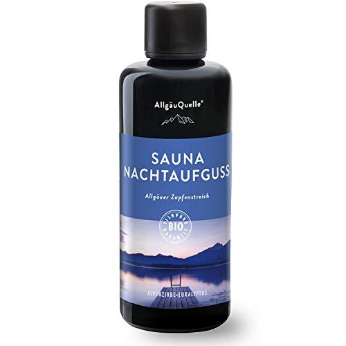 AllgäuQuelle Saunaaufguss mit 100% BIO-Öle Nachtaufguss Alpenzirbe...