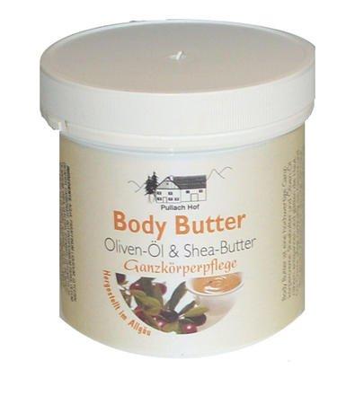 4x Body Butter Creme 250ml mit Olivenöl- und Shea-Butter, ist eine...