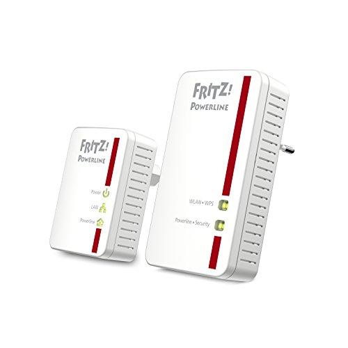 AVM FRITZ!Powerline 540E / 510E WLAN Set (500 MBit/s, WLAN-Access...