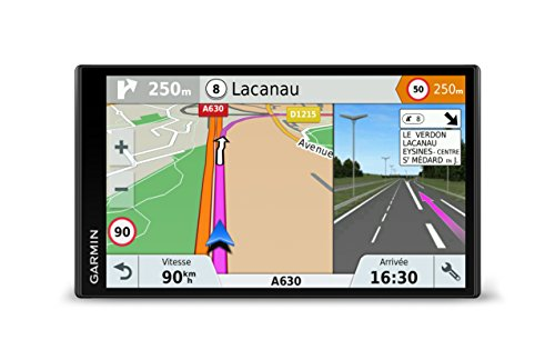 Gamin DriveSmart 61LMT-S Navigationsgerät (17,7 cm (6,95 Zoll)...
