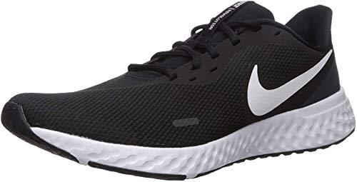 Nike Herren Revolution 5 Leichtathletikschuhe, Schwarz Black White...