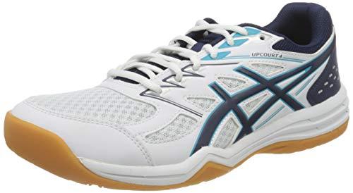 ASICS Herren Upcourt 4 Volleyball Shoe, White, 40 EU