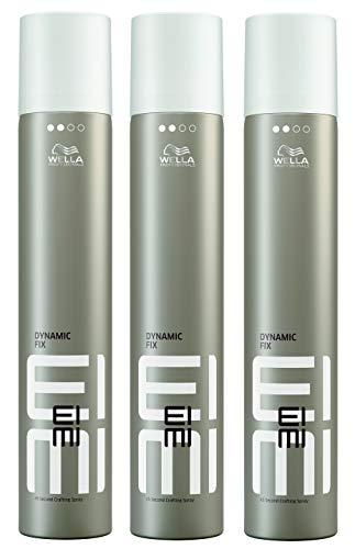 Wella Eimi Dynamic Fix-45 Sek.Haarspray Deutsche Ware 3x500ml